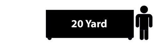 20 yard residential dumpster rental