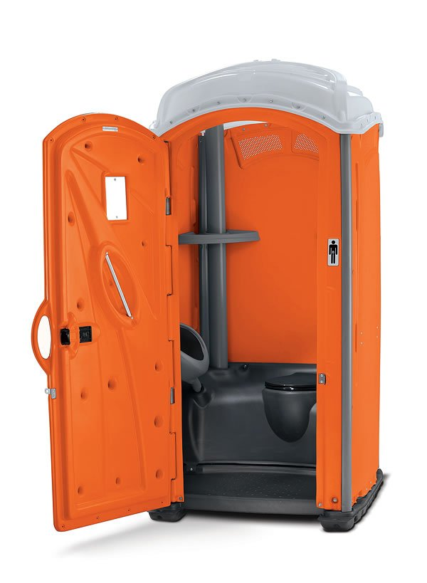 Orange Portable Unit from Plummer's Disposal Services