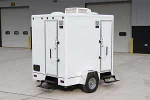 small bathroom trailers